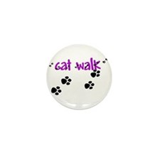 Cat Walk Mini Button (10 pack)