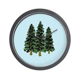 Tree Root Three Hemlocks Wall Clock