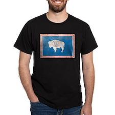 Vintage Wyoming Flag T-Shirt