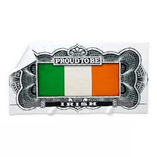 Proud To Be Irish Beach Towel