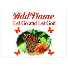 LET GO LET GOD Invitations