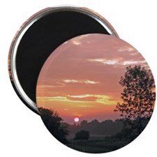 Farm Sunrise Magnets