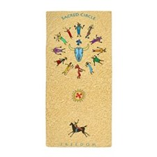 Sacred Circle - Yoga / Beach Towel