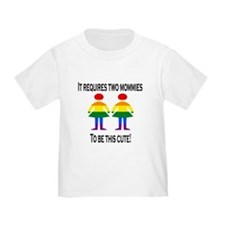 Two mommies T-Shirt