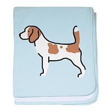 Beagle II baby blanket