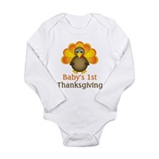 Cute Babies first Long Sleeve Infant Bodysuit