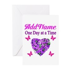 ONE DAY AT A TIME Greeting Cards (Pk of 10)