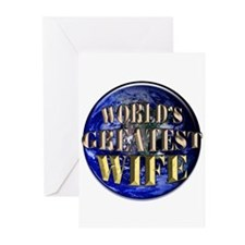World's Greatest Wife 02 Greeting Cards (Package o