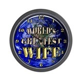 World's Greatest Wife 02 Wall Clock