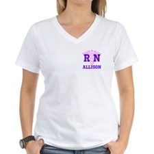 Pink and Purple personalize Shirt