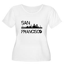 San Francisco Skyline Plus Size T-Shirt