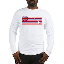 Flag - Hawaiian Island Long Sleeve T-Shirt