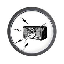 Old Radio! Wall Clock