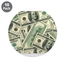 "Cash Money 3.5"" Button (10 pack)"