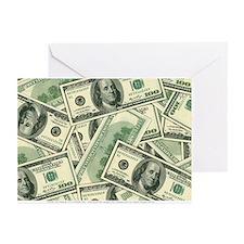 Cash Money Greeting Cards