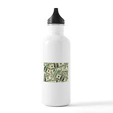 Cash Money Water Bottle