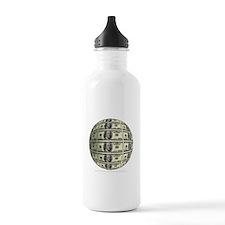 U.S. Dollar Planet Water Bottle