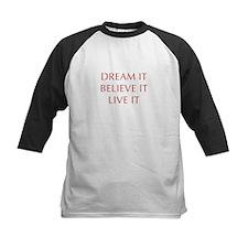 DREAM-IT-BELIEVE-IT-LIVE-IT-OPT-RED Baseball Jerse