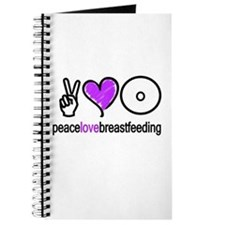 Peace, Love & BF(Purple) Journal