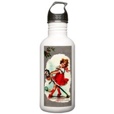 Vintage Christmas - St Water Bottle