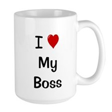 Cute I love my boss Mug