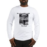 Devo's It's a Beautiful World Long Sleeve T-Shirt