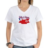 Wallis flag ribbon Shirt
