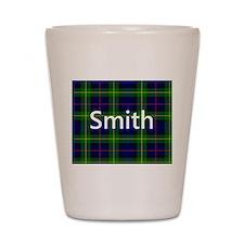 Smith Family Name Tartan Personalized Shot Glass