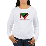 I love St Kitts &amp; Nevis T-Shirt