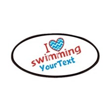 Swimming Optional Text Patches