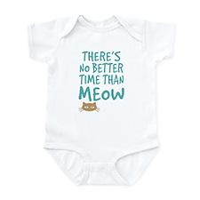 Time Than Meow Infant Bodysuit