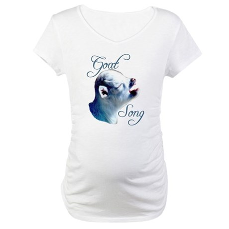 Goat Song Maternity T-Shirt