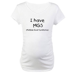 Goat MGS Maternity T-Shirt