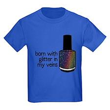 Glitter In My Veins T-Shirt