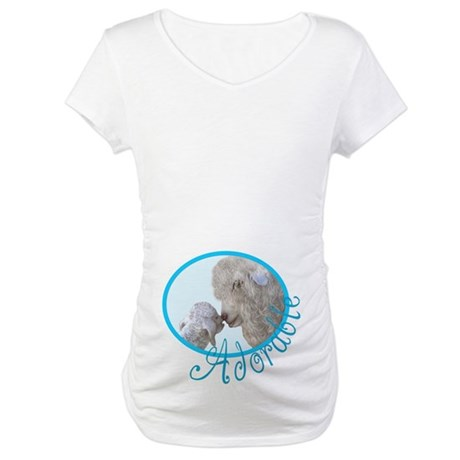 Goat Adorable Baby Maternity T-Shirt