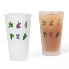 Herbs Drinking Glass