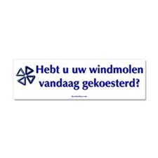 Cute Windmills Car Magnet 10 x 3