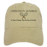 Operation Doubles Tennis Baseball Cap