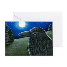 Bird 52 Crow Raven Greeting Card
