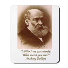 Anthony Trollope Mousepad