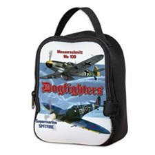 Dogfighters: Spitfire vs Me109 Neoprene Lunch Bag
