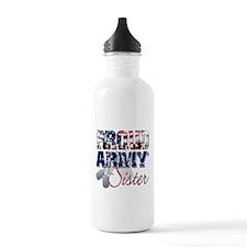 ProudArmySister Water Bottle