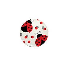 LADYBUG DUO Mini Button (100 pack)