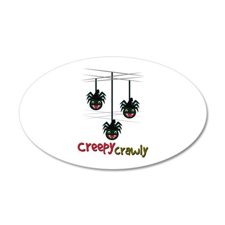 Creepy Crawly Wall Decal