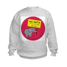 NO NUTS (or traces) Sweatshirt