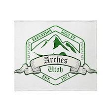 Arches National Park, Utah Throw Blanket