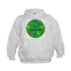 Diabetes-medical alert Kids Hoodie