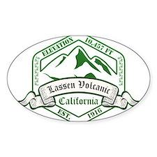 Lassen Volcanic National Park, California Decal