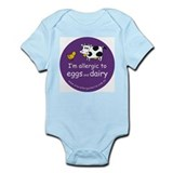 eggs and dairy Infant Bodysuit