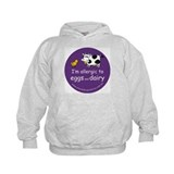 eggs and dairy Hoodie